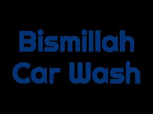 Logo Bismillah Car Wash